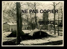 PHT8 Ax Les Thermes, Le Clocher Incendié  Photo Beau  Format 16x12 Cm - Ax Les Thermes