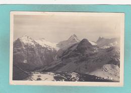 Old Postcard Of Faulhorn,Bernese Oberland.Switzerland,N36. - Other