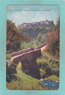 Old Postcard Of Motivo Nella Valsolda E Castello.Lake Lugano.Switzerland,N36. - Other