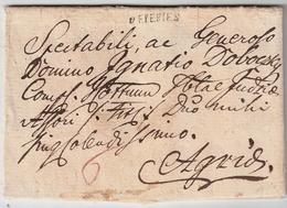 Österreich, 1822, Eperies, 120 Punkte , Ungarn  ,  A608 - ...-1850 Prephilately