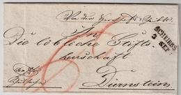 """Österreich, 1839, """" Scheibbs """" ,  A610 - ...-1850 Préphilatélie"""