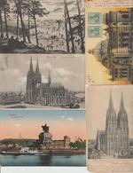 N  34   Lot 100 CPA    Différentes   D Allemagne - Postcards