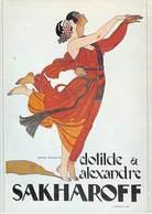 PUB PUBLICITE -NUGERON D 6 DANSE Et MAGIE Clotilde Et Alexandre SAKHAROFF (B)  *PRIX FIXE - Advertising