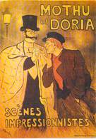 PUB PUBLICITE -NUGERON D 4  DANSE Et MAGIE MOTHU Et  DORIA Scènes Impressionnistes *PRIX FIXE - Advertising