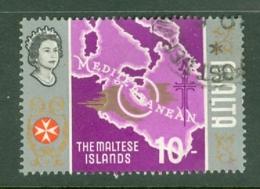 Malta: 1965/70   Pictorial    SG347   10/-      Used - Malta