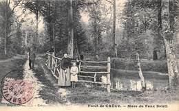 80-CRECY-FORÊT DE CRECY - MARE DU FAUX SOLEIL - France