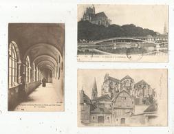Cp , 89 , YONNE , AUXERRE (2),monastère De Sainte Marie De La PIERRE QUI VIRE, LOT DE 3 CARTES POSTALES - Frankreich