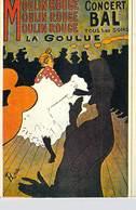 PUB PUBLICITE -NUGERON D 1 DANSE Et MAGIE MOULIN ROUGE La Goulue  (Cabaret Spectacle Dance)*PRIX FIXE - Advertising