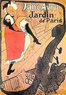 PUB PUBLICITE -NUGERON D 7 DANSE Et MAGIE JANE AVRIL Jardin De Paris  (Cabaret Spectacle Dance)*PRIX FIXE - Publicité