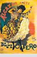 PUB PUBLICITE -NUGERON D 5 DANSE Et MAGIE Alcazar D'été LA BELLE OTERO (Cabaret Spectacle  Castagnettes (PAL) *PRIX FIXE - Publicité