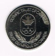 &  PENNING OLYMPIC TRUST OF CANADA  YACHTING 1980 - Elongated Coins