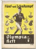 OLYMPIA HEFT 9 - FÜNF UND ZEHNKAMPF VERY GOOD CONDITION - Livres, BD, Revues