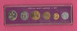 Israel Israele Mint Set Serie 1972 UNC - Israele