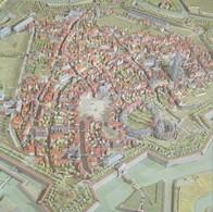 Artis Historia 2 Fiches 4 Pages 17 X 17cm La Ville D' ATH Au 17e Siecle Plan Relief VAUBAN 1668 Voir Descriptif Complet - Artis Historia