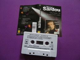 MICHEL SARDOU VOIR DESCRIPTIF ET PHOTO... REGARDEZ LES AUTRES (PLUSIEURS) - Audio Tapes
