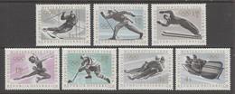 SERIE NEUVE D'AUTRICHE - JEX OLYMPIQUES D'INNSBRUCK N° Y&T 974 A 980 - Winter 1964: Innsbruck