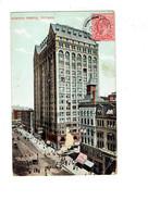 Cpa - Illinois > Chicago - Thème Franc Maçonnerie - Masonic / Masonic Temple - Temple Theatre - 1910 - Chicago