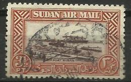 Sudan - 1950 Airmail 3.5pi Used      Sc 447 - Sudan (1954-...)