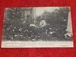 WIJNEGEM -  Begrafenis Van Karel Verbist -  Bij Het Graf, De Redevoeringen - Wijnegem