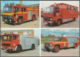 Humberside Fire & Rescue Service Fire Engines - HF&RS Advice Postcard - Trucks, Vans &  Lorries