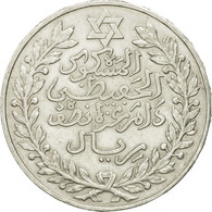 Monnaie, Maroc, 'Abd Al-Hafiz, 1/2 Rial, 5 Dirhams, 1911, Bi-Bariz, Paris, TTB+ - Marruecos
