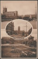 Multiview, Blackburn, Lancashire, C.1910s - Jay Em Jay Postcard - England