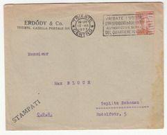 Italy, Erdődy & Co Letter Cover Travelled 1923 Trieste Pmk B180715 - Marcophilie