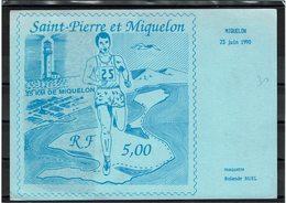 LCA11 - SAINT PIERRE ET MIQUELON PRESENTATION DU TPM DE LA SERIE SPORTS JUIN 1990 - St.Pierre Et Miquelon