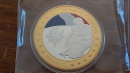 Medaille Les Piliers De La République Fdc Sous Capsule - Royal / Of Nobility