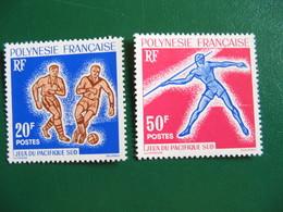 POLYNESIE YVERT POSTE ORDINAIRE N° 22/23 TIMBRES NEUFS** LUXE - MNH - COTE 29,00 EUROS - Polynésie Française