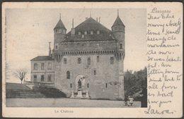 Le Château, Lausanne, Vaud, 1902 - Guggenheim U/B CPA - VD Vaud