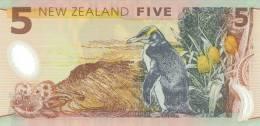 NEW ZEALAND P. 185a 5 D 1999 UNC - Nouvelle-Zélande