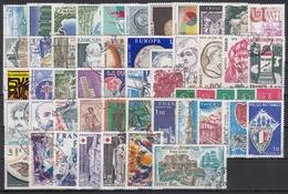 FRANCIA 1976 Nº 1863/1913 AÑO COMPLETO USADO - Francia