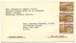 Honduras 1960 Airmail Cover Manto, Olancho To Troy, New York W/ Scott C255 - Honduras