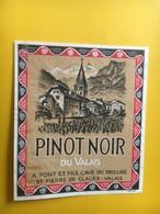 8522- Pinot Noir A.Pont Saint Pierre De Clages  Suisse - Autres