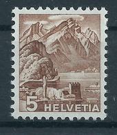 Schweiz 500 ** Rollenmarke Mit Nummer - Suisse