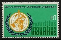 MAURITIUS 1973 WHO WORLD HEALTH MEDICAL OMNIBUS SET MNH - Mauritius (1968-...)