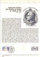 1976 DOCUMENT FDC ASSOCIATION OFFICIERS DE RESERVE DE L'ARMEE DE MER - Documents De La Poste