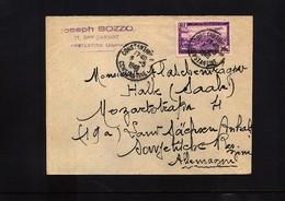 Algeria 1949 Interesting Letter - Algérie (1924-1962)