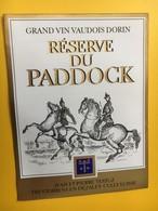 8536- Dorin Réserve Du Paddock Testuz Suisse - Autres