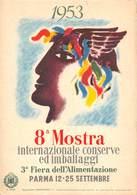 1953.- 8ª MOSTRA INTERNAZIONALE CONSERVE ED IMBALLAGGI - Parma