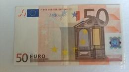 Malta 50 Euro R051A1 Draghi Circolata - 50 Euro