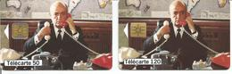 2 Télécartes Téléphone Et Cinéma BERNARD BLIER 50 U OB1 Et 120 U SO3 - 02/99 Utilisées (N° 941 - 942) - Frankrijk