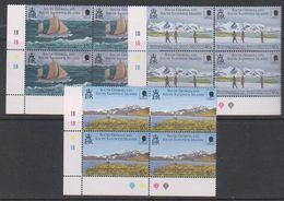 South Georgia 2000 Sir Ernest Shackleton 3v Bl Of 4 ** Mnh (39456G) - Zuid-Georgia