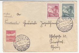 Czechoslovakia Letter Cover Travelled 1938 Liberec B180715 - Checoslovaquia