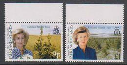 Falkland Islands 2000 Visit Princess Alexandra 2v (+margin) ** Mnh (39457) - Falklandeilanden