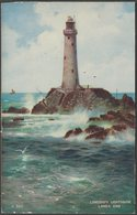 Longships Lighthouse, Land's End, Cornwall, C.1940 - Valentine's Postcard - Land's End