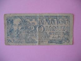 Viêt-Nam   Billet De 20 Dong - Viêt-Nam