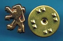 1 PIN'S //   ** LOGO ** LE LION / PEUGEOT ** - Peugeot