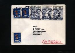Guatemala Interesting Airmail Letter - Guatemala